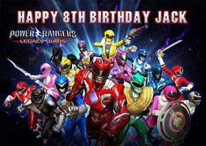 Power Rangers personnalisé personnalisé gâteau Sucre papier A4d'image 7 de la marque Fabulous Cake Toppers image 0 produit