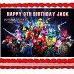 Power Rangers personnalisé personnalisé gâteau Sucre papier A4d'image 7 de la marque Fabulous Cake Toppers image 1 produit