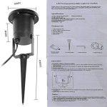 Projecteur LED Mouvement Flocon de Neige Lumineux, YUMOMO Lumiere Decoration de Projecteur Pere Noel Exterieur, Lampe Sur Pied de Salon de la marque YUMOMO image 3 produit