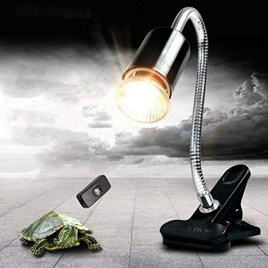 PROKTH Lampe à Pince Fixation pour Reptiles Réglable, Habitat d'éclairage la Chaleur Lamps Support pour Reptiles, Tortues, Amphibiens, Oiseaux, Poissons, Mammifères de la marque PROKTH image 0 produit