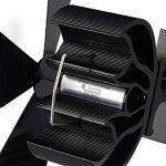 PROKTH Ventilateur pour a poele et Bois - Chaleur alimenté poêle Ventilateur -pour poêles à Bois et cheminées - Pas de Bruit - Alimenté par la Chaleur - Noir de la marque PROKTH image 3 produit