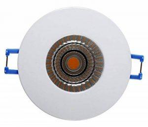 PRONETELEC SPOT A ENCASTRER FIXE ROND LED BLANC IP65 RT2012, pour laine de verre déroulée de la marque PRONETELEC image 0 produit