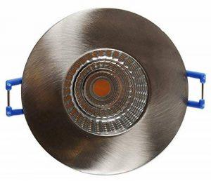 PRONETELEC SPOT A ENCASTRER LED IP65 RT2012, laine de verre déroulée, FINITION ALU BROSSE de la marque PRONETELEC image 0 produit