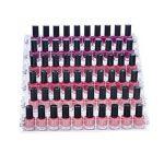 Présentoir de 6 étagères en acrylique pour 66flacons de vernis à ongles Mobengo, rangement pour maquillage ou bijoux de la marque Mobengo image 3 produit