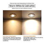 Pursnic GU10 Ampoule LED 3W, blanc chaud 3000K Idéal pour remplacer 20W Halogène GU10 Spot Led avec 2 ans de garantie, paquet de 6 unités de la marque Pursnic image 2 produit
