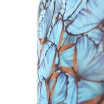 QAZQA Coton Abat-jour velours 50/50/25 papillon or, Rond/Cylindrique Abat-jour Lampadaire, Abat-jour Suspendu, Salon de la marque QAZQA image 3 produit