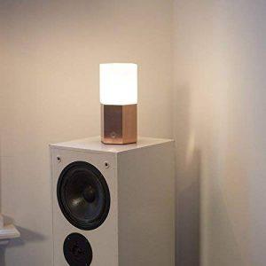 QAZQA Design/Moderne / Lampe de Table/Lampe á poser/Luminaire / Lumiere/Éclairage Hexagon cuivre Verre/Metal / Autres E14 Max. 1 x 40 Watt/intérieur / Chambre á coucher/Cuisine de la marque QAZQA image 0 produit