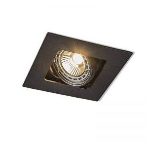 QAZQA Design/Moderne / Spot à encastrer/encastrables noir - Artemis Metal Carré Compatible pour LED GU10 Max. 1 x 50 Watt/Luminaire / Lumiere/Éclairage / intérieur/Chambre á coucher/Cuisin de la marque QAZQA image 0 produit