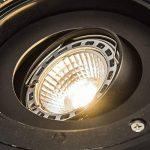 QAZQA Moderne Spot de sol orientable Delux pour extérieur, Verre, Plastique, Acier inoxydable, / Compatible pour LED GU10 Max. 1 x 50 Watt de la marque QAZQA image 2 produit