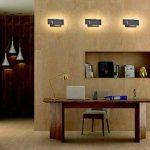 Ralbay Applique Murale Intérieur, 12W Moderne LED Applique Design Carrée pour Chambre/Escalier / Sallon/Bureau / Porche/Passerelle, Blanc Chaud 2700~3200K, IP20, Noir de la marque Ralbay image 3 produit