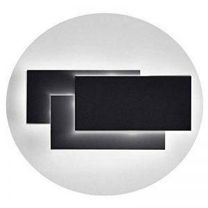 Ralbay Lampe Murale LED, 12W Moderne Aluminium LED Applique Murale Interieur Éclairage Mural, 4000~4500K, 960LM, 10.23*4.9*2.2 pouce, Applique Murale Lumières pour Cuisine, Escalier, Chambre, Couloir de la marque Ralbay image 0 produit