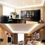 Ralbay LED Spots Encastrables, Eclairage encastré Lampe de plafond Blanc Chaud Plafonnier Encastré 7W 1100LM Equivalente de 40W Ampoule, 220V,IP44, Non Dimmable, Lot de 2 de la marque Ralbay image 4 produit