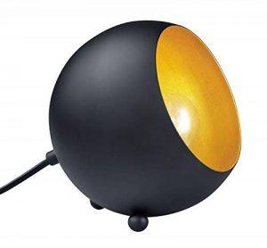 Reality, Lampe de table, Billy 1xE14, max.28,0 W Corps: metal, noir mat L:15,0cm, L:14,0cm, H:16,0cm IP20,Interrupteur de cordon de la marque Reality image 0 produit