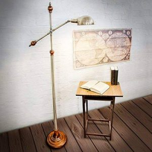 Relaxdays-10018506 Lampadaire avec Design style ancien vintage retro Lampe sur pied antique de la marque Relaxdays image 0 produit