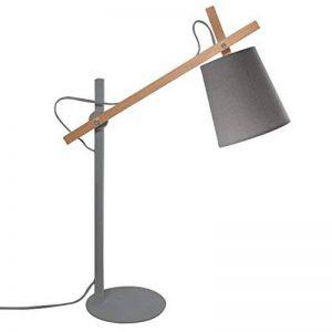 Rendez vous déco - Lampe de bureau Oslo grise de la marque Rendez vous déco image 0 produit