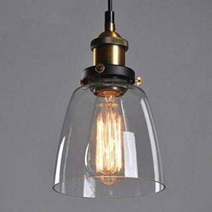 Retro Industrial Glass Ceiling Lamp Shade, verre abat-jour pour Light Lamp, rétro ombre de la lampe industrielle de la marque SmielyEU image 0 produit