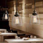 Retro Industrial Glass Ceiling Lamp Shade, verre abat-jour pour Light Lamp, rétro ombre de la lampe industrielle de la marque SmielyEU image 1 produit