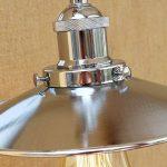 Rishx LED lumière d'escalier rétro Edison Vintage applique murale lampe de mur en métal à bras articulé réglable Loft argenté mur industriel lumières pour l'éclairage de la maison E27 110~240V de la marque Rishx-lamp image 4 produit