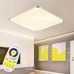 SAILUN 24W Ultra mince LED Blanc Froid Plafonnier Lampe Moderne Lampe de Plafond pour salon, Cuisine, chambre à coucher, Hôtel - Argenté de la marque SAILUN image 2 produit