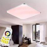 SAILUN 24W Ultra mince LED Blanc Froid Plafonnier Lampe Moderne Lampe de Plafond pour salon, Cuisine, chambre à coucher, Hôtel - Argenté de la marque SAILUN image 3 produit