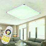 SAILUN 24W Ultra mince LED Blanc Froid Plafonnier Lampe Moderne Lampe de Plafond pour salon, Cuisine, chambre à coucher, Hôtel - Argenté de la marque SAILUN image 4 produit