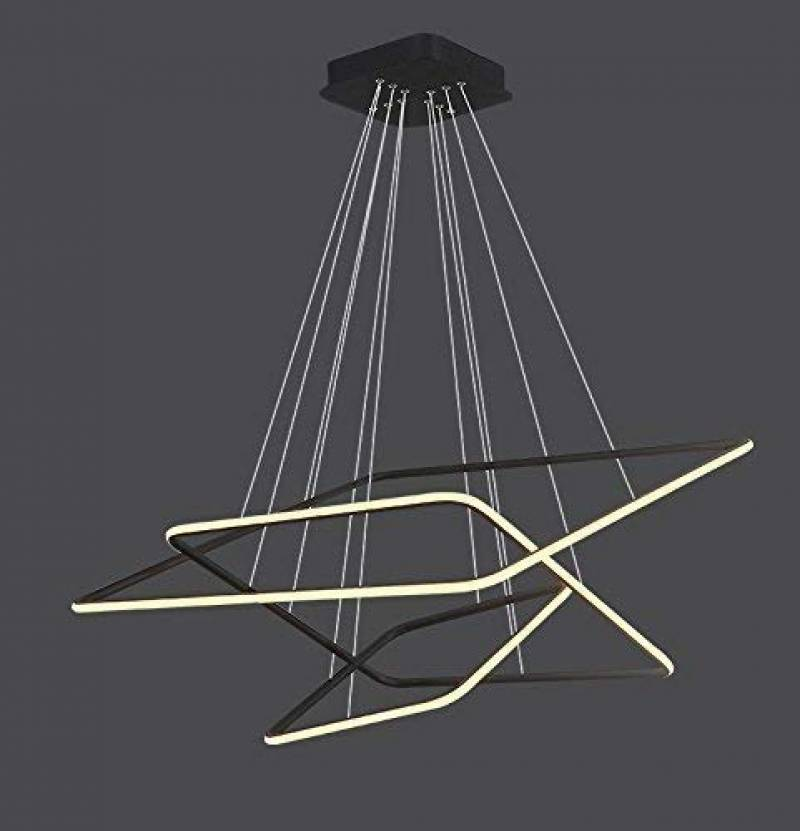 Lustre Salon Moderne Led
