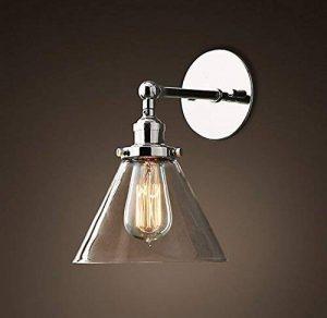 Saint Mossi Métal Vintage Applique Réglable Murale Industrial Lampe contemporaine en verre contemporaine Sconce Edison Culot E27 Luminaires de la marque Saint Mossi image 0 produit