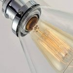 Saint Mossi Métal Vintage Applique Réglable Murale Industrial Lampe contemporaine en verre contemporaine Sconce Edison Culot E27 Luminaires de la marque Saint Mossi image 2 produit