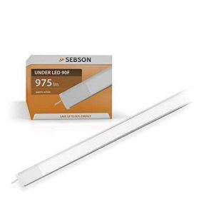 SEBSON® Éclairage sous meuble 90cm, Lampes de Placard, Blanc chaud, 15W, 975lm de la marque sebson image 0 produit