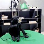 Seletti Monkey Lamp assis résine, noir, 45x 39x 36cm de la marque Seletti image 2 produit