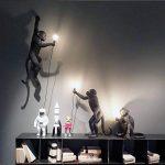 Seletti Monkey Lamp debout résine, noir, 60x 52,5x 33cm de la marque Seletti image 4 produit