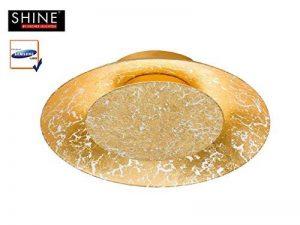 SHINE 23183A + +, Plafonnier, métal, doré, 21,5x 21,5x 5cm de la marque Shine image 0 produit