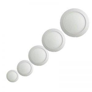 Sienoc Blanc chaud 3W 6W 9W 12W Blanc 18W Spot LED Encastrable Panneau Spot rond encastrable Leuchten Plafonnier très plat, 12W Rund Warmweiß, unknown 12 watts de la marque SIENOC image 0 produit