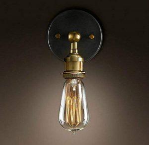Signstek E27 Rétro Edison Applique Murale En Laiton Lampe Vintage Pour Extérieur et Intérieur de la marque Signstek image 0 produit