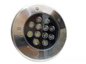 Silamp - Spot Extérieur Encastrable Sol LED 12W IP65 60 - couleur eclairage : Blanc Froid 6000K - 8000K de la marque Silamp image 0 produit