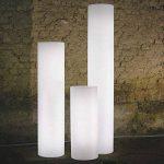 Slide Fluo Lampe de Sol H.170 cm Blanche brillante de la marque Slide image 1 produit