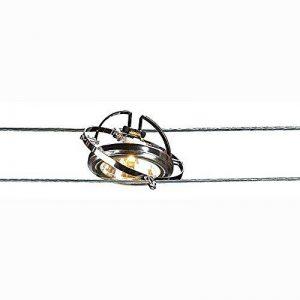 SLV Applique Corde QRB, Maximum 50W Chromé 186462 de la marque SLV image 0 produit