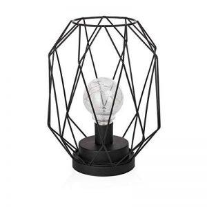 Smartwares Ide-60007 Lampe De Table, Structure Filaire Noire, Alimentée par Piles, Metal, Black de la marque Smartwares image 0 produit