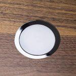 SO-TECH® Spot Encastré LED Giulia Luminaire Encastrée de Meuble Luminaire Encastrée Spot Ultraslim / 12V / 3W / blanc froid - 6000K / 65 x 12 mm de la marque SOTECH image 4 produit