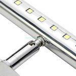 SODIAL(R) Lampe pour Tableau Miroir 30 LEDs SMD5050 Lumiere Blanc 7W 480LM Pour Salle de Bain Miroir de la marque SODIAL(R) image 2 produit
