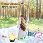 SOLMORE Réveil Lumineux Veilleuse LED RGB USB Rechargeable 3 Luminosité 7 Couleur 6 Sonnerie Naturel Réglable Lampe de Chevet Wake up Light Sunrise Simulation Lampe Horloge Réveille Matin Multicolore de la marque SOLMORE image 4 produit
