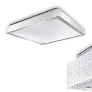 Sora Plafonnier LED Blanc chaud 3000 Kelvin IP44 24 Watt Pour Salle de Bain de la marque hofstein image 0 produit