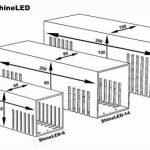 SpiceLED® ShineLED-6 Applique murale avec 2 LED de 3 W, intensité variable, couleur blanc chaud de la marque SpiceLED® / lichtundwasserwelt.de image 4 produit