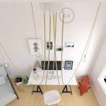 Spider, supension multiple avec 5 pendants, métal blanc, câble en jute RN06, Made in Italy - Kit bricolage, Crochet, Conique de la marque Creative-Cables image 1 produit