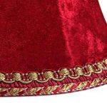 Splink 2pcs Style Européen Clip-on Abat-jour A Pince en Tissu Handmade pour Bougie Lustre Lampe de Table Applique Murale 80*120*110mm de la marque Splink image 4 produit
