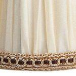 Splink 2pcs Style Européen Clip-on Abat-jour en Tissu Handmade pour Bougie Lustre Lampe de Table Applique Mural 100*125*110mm de la marque Splink image 2 produit
