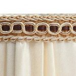 Splink 2pcs Style Européen Clip-on Abat-jour en Tissu Handmade pour Bougie Lustre Lampe de Table Applique Mural 100*125*110mm de la marque Splink image 3 produit