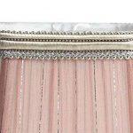 Splink 2pcs Style Européen Clip-on Abat-jour en Tissu Handmade pour Bougie Lustre Lampe de Table Applique Mural 100*130*120mm de la marque Splink image 4 produit
