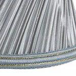Splink 2pcs Style Européen Clip-on Abat-jour en Tissu Handmade pour Bougie Lustre Lampe de Table Applique Mural 80*120*110mm de la marque Splink image 4 produit