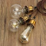 Splink Lampe Suspension 3 Douille E27 Support DIY pour Maison , Bar , Restaurants, Café, Club de la marque Splink image 3 produit